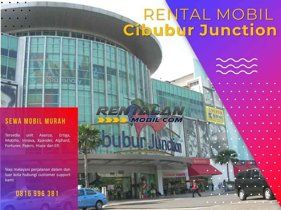 Rental Mobil dekat Cibubur Junction