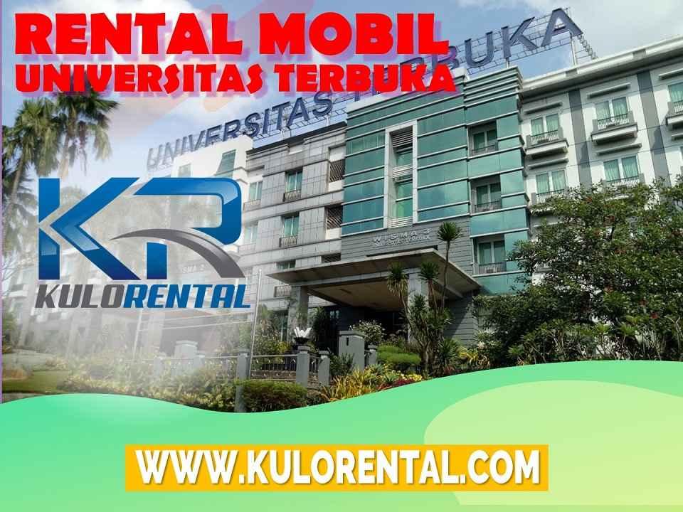 Rental Mobil dekat Universitas Terbuka Pamulang
