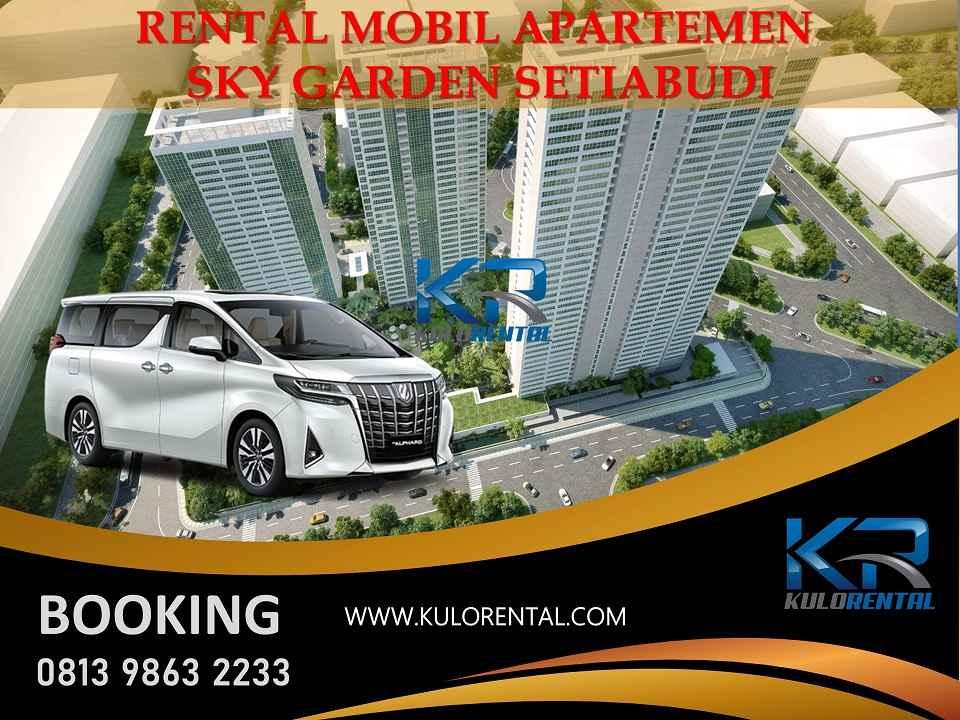 Rental Mobil dekat Apartemen Setiabudi Sky Garden