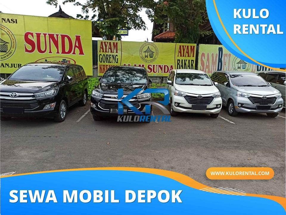 Rental Mobil dekat Apartemen H City Sawangan
